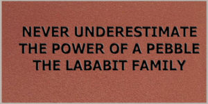 Never Underestimate the Power of a Pebble, the Lababit Family